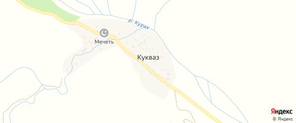 Горная улица на карте села Кукваза Дагестана с номерами домов