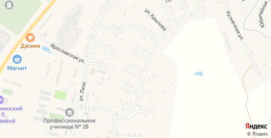 Улица Смольникова в Мариинском Посаде с номерами домов на карте. Спутник и схема онлайн