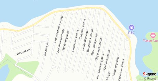 СТ Приканальное Вишневая улица в Балаково с номерами домов на карте. Спутник и схема онлайн