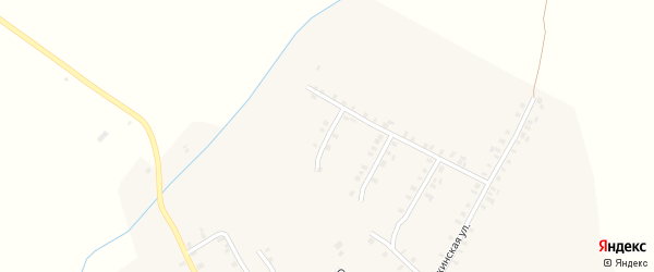 Первомайский 1-й переулок на карте села Шоркистры с номерами домов