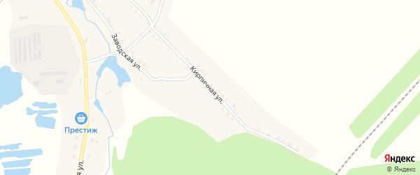 Кирпичная улица на карте станции Шоркистры Чувашии с номерами домов