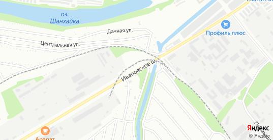 Улица Ивановское шоссе в Балаково с номерами домов на карте. Спутник и схема онлайн