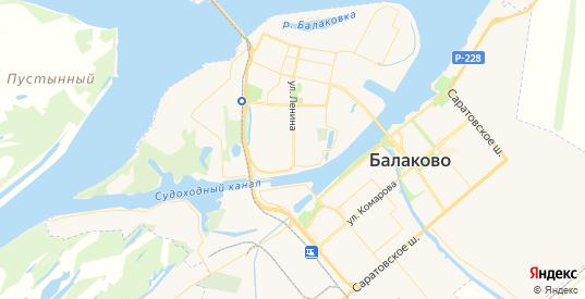 Карта Балаково с улицами и домами подробная. Показать со спутника номера домов онлайн