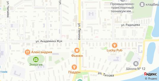 СТ Луч Хорошая улица в Балаково с номерами домов на карте. Спутник и схема онлайн
