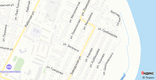 Улица СТ Дзержинец Мичурина в Балаково с номерами домов на карте. Спутник и схема онлайн