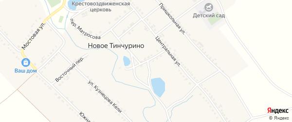 Приозерный переулок на карте села Новое Тинчурино с номерами домов