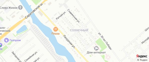 Арагонитовая улица на карте Балаково с номерами домов
