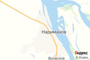 Карта г. Нариманов Астраханская область