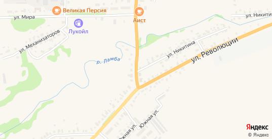 Переулок Революции в Яранске с номерами домов на карте. Спутник и схема онлайн