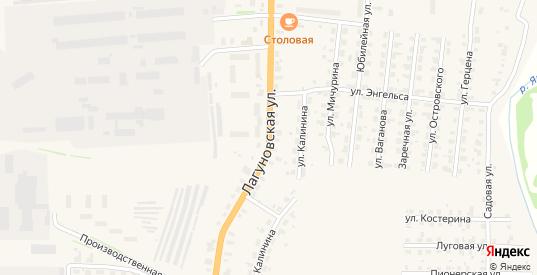 Лагуновская улица в Яранске с номерами домов на карте. Спутник и схема онлайн