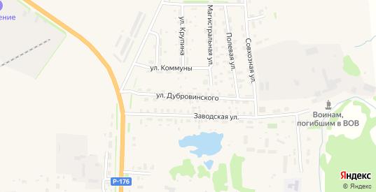 Улица Дубровинского в Яранске с номерами домов на карте. Спутник и схема онлайн