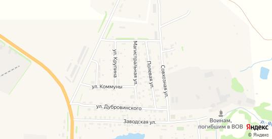 Магистральная улица в Яранске с номерами домов на карте. Спутник и схема онлайн