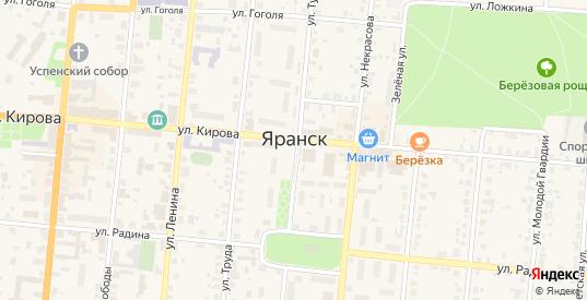 Территория сдт Соколовское 7 в Яранске с номерами домов на карте. Спутник и схема онлайн