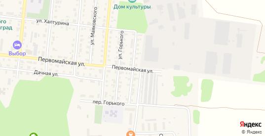 Кооперативная улица в Яранске с номерами домов на карте. Спутник и схема онлайн