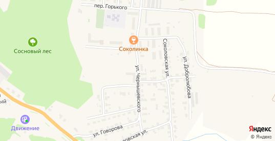 Улица Чернышевского в Яранске с номерами домов на карте. Спутник и схема онлайн
