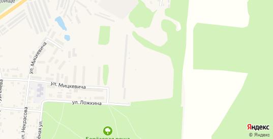 Территория сдт Солнечный в Яранске с номерами домов на карте. Спутник и схема онлайн
