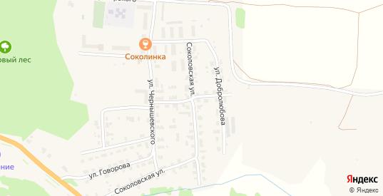 Переулок Льва Толстого в Яранске с номерами домов на карте. Спутник и схема онлайн
