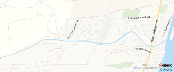 Садовое товарищество сдт Судоремонтник на карте Астрахани с номерами домов