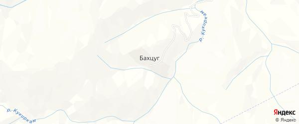 Карта села Бахцуга в Дагестане с улицами и номерами домов