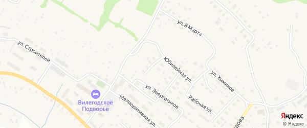 Колхозная улица на карте Ильинско-Подомского села Архангельской области с номерами домов