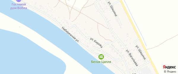 Улица Кирова на карте села Иванчуга с номерами домов