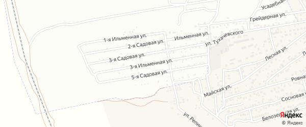 3-я Ильменная улица на карте Керамика с номерами домов