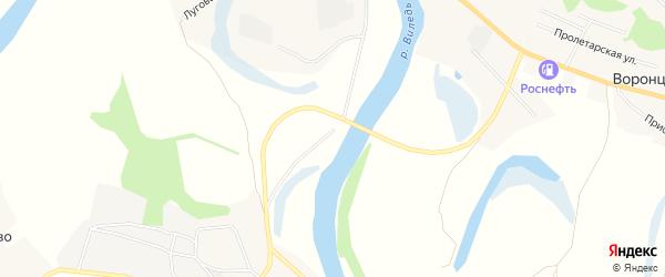 Карта деревни Подома в Архангельской области с улицами и номерами домов