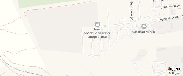 Чусовая улица на карте села Солянки Астраханской области с номерами домов