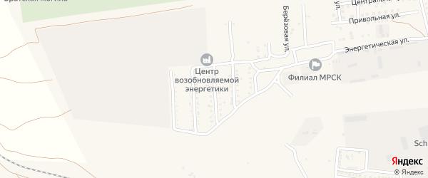 Курская улица на карте села Солянки Астраханской области с номерами домов