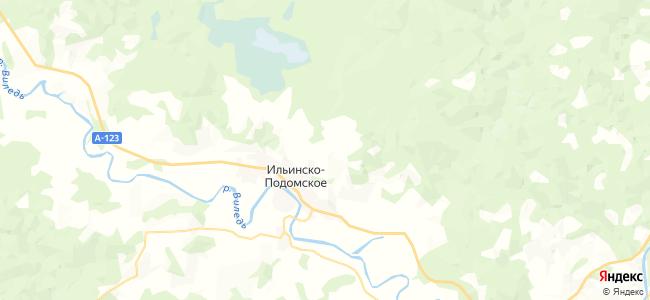 Осиновец на карте