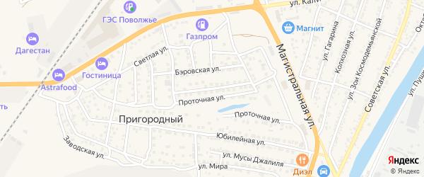 Тукая улица на карте села Солянки Астраханской области с номерами домов
