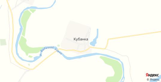 Карта поселка Кубанка в Саратовской области с улицами, домами и почтовыми отделениями со спутника онлайн