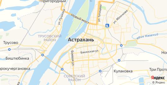 Карта Астрахани с улицами и домами подробная. Показать со спутника номера домов онлайн