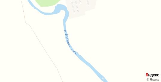 Карта поселка Горькореченский в Саратовской области с улицами, домами и почтовыми отделениями со спутника онлайн