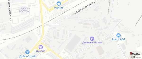 Рождественского 3-й проезд на карте Астрахани с номерами домов