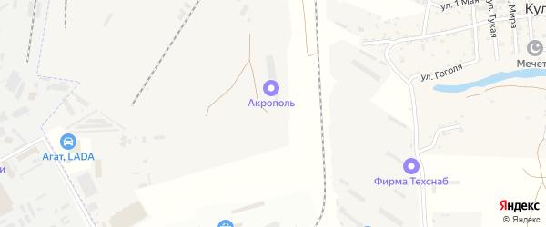 Территория сдт Приволжской агропромхимии на карте села Началово с номерами домов