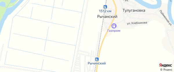 ГСК Локомотив на карте Астрахани с номерами домов