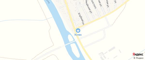 Улица 40 лет ВЛКСМ на карте поселка Кирпичного Завода N1 с номерами домов