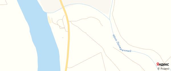Улица Нариманова на карте Николаевского поселка Астраханской области с номерами домов