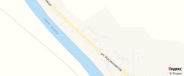 Территория сдт Контакт на карте села Фунтово-1 Астраханской области с номерами домов