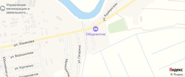 Абая улица на карте Камызяка с номерами домов