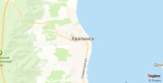 Карта Хвалынска с улицами и домами подробная. Показать со спутника номера домов онлайн