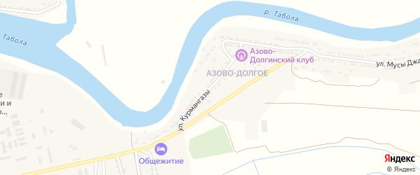 Улица Курмангазы на карте Камызяка с номерами домов