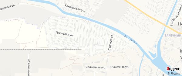 ГСК Ветеран на карте Астрахани с номерами домов