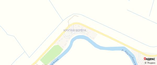Крутой переулок на карте Камызяка с номерами домов