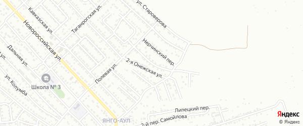 Алтайская улица на карте Астрахани с номерами домов