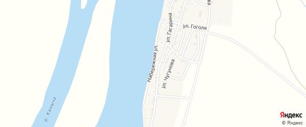 Набережная улица на карте Кировского поселка с номерами домов