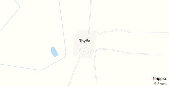 Карта хутора Труба в Саратовской области с улицами, домами и почтовыми отделениями со спутника онлайн