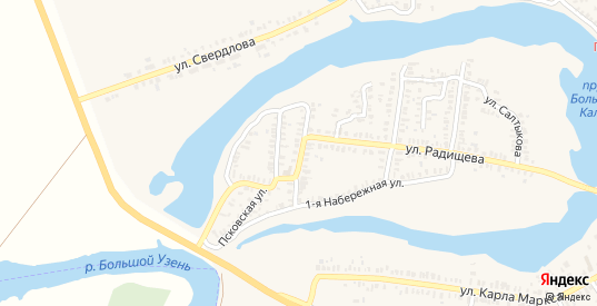 Улица Дарвина в Новоузенске с номерами домов на карте. Спутник и схема онлайн