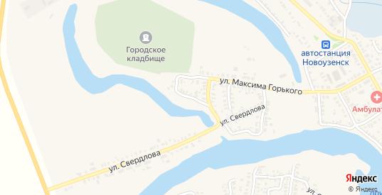 Переулок Воровского в Новоузенске с номерами домов на карте. Спутник и схема онлайн